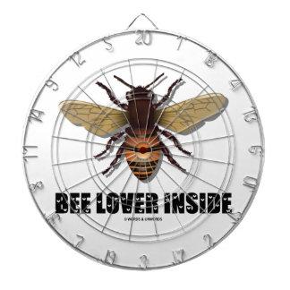 Interior del amante de la abeja (fuente de la letr