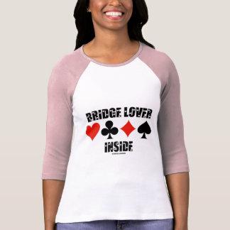 Interior del amante del puente (actitud duplicado  camiseta