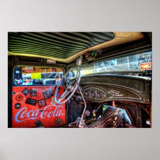 Interior del camión de la rata poster