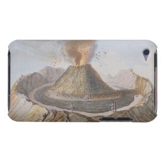 Interior del cono de Vesuvio antes de la E 1767 iPod Touch Case-Mate Cárcasa