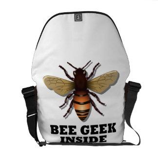 Interior del friki de la abeja (abeja) bolsa de mensajeria