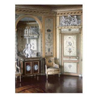 Interior del gabinete de señora de Marie Antonieta Postales