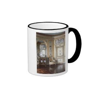 Interior del gabinete de señora de Marie Antonieta Tazas De Café