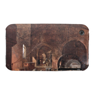 Interior del industrias siderúrgicas, c.1850-60 iPhone 3 fundas