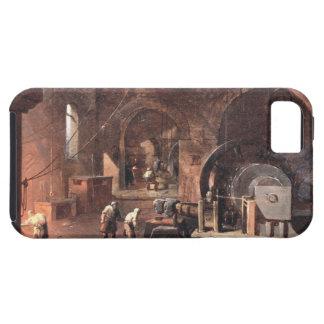 Interior del industrias siderúrgicas, c.1850-60 funda para iPhone SE/5/5s