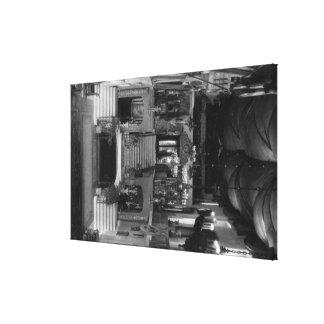 Interior del mesón de la misión de la orilla, foto impresion en lona