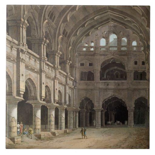 Interior del palacio, Madura, placa XV de 'Ori Azulejo Ceramica