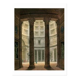 Interior del panteón, Roma, de 'Le Costume A Postales