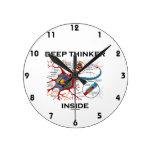 Interior del pensador profundo (sinapsis de la relojes
