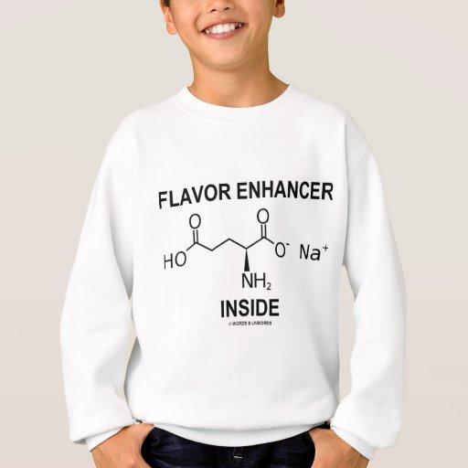 Interior del reforzador del sabor (glutamato remera