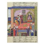 Interior del rey del palacio de Persia Tarjeta Postal