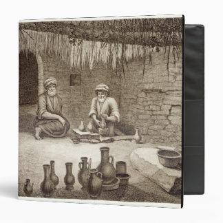 """Interior del taller de un alfarero, del volumen II Carpeta 1 1/2"""""""