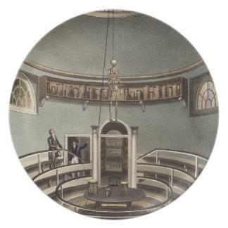 Interior del teatro de la anatomía, Cambridge, par Platos De Comidas