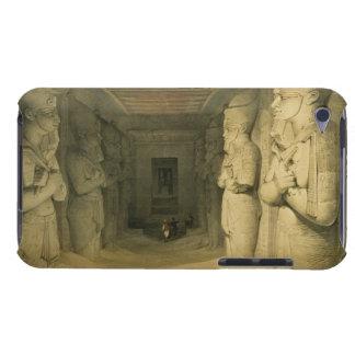 "Interior del templo de Abu Simbel, de ""Egipto Barely There iPod Carcasa"