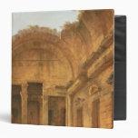 Interior del templo de Diana en Nimes, 1787