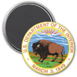 Interior Department Refrigerator Magnets