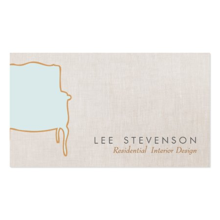 Antique Chair Business Cards
