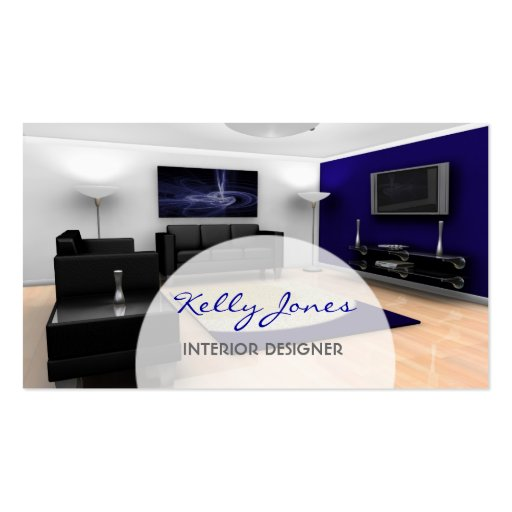 Interior Design Business Card  Zazzle
