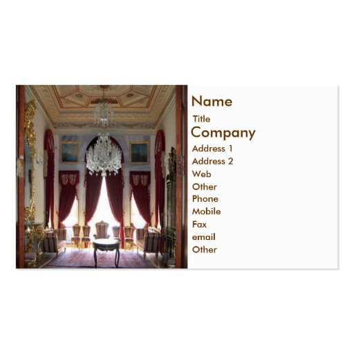 Interior Design Business Card Templates