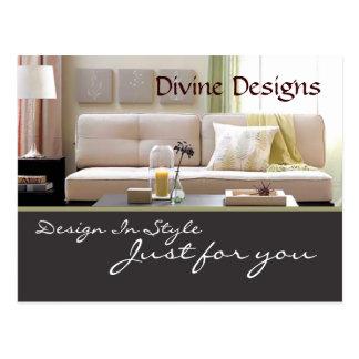 Interior Design - Customized Postcard