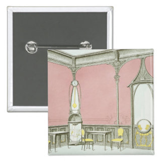 Interior design for a brasserie, illustration from pin