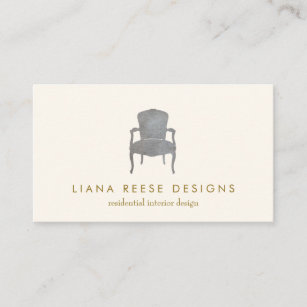 French business cards zazzle interior design french chair logo business card colourmoves
