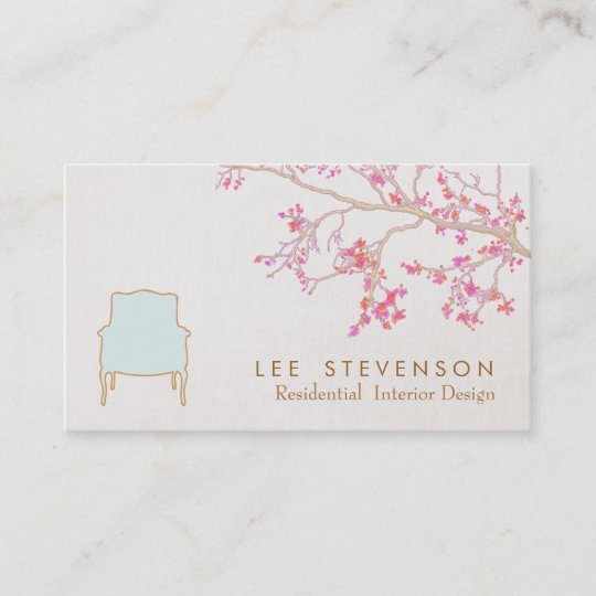 Interior design french chair staging decorator business card interior design french chair staging decorator business card colourmoves