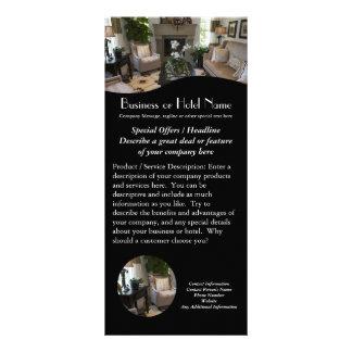 Interior Design, Hotel Rack Cards Flyer Printing