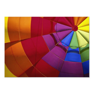 Interior design of inflated hot air balloon custom announcement