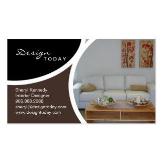 Interior Design Staging Modern Business Card 5