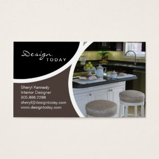 Interior Design Staging Modern Business Card 6