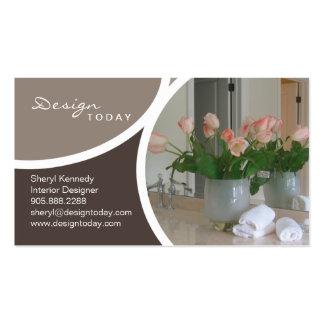 Interior Design Staging Modern Business Card 7