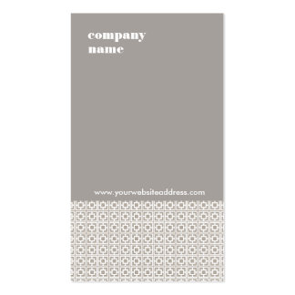 Interior Design Taupe Gray Business Card
