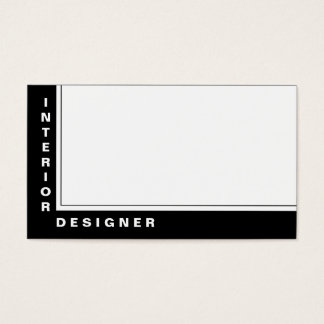 Interior Designer 44 Business Card