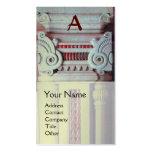 INTERIOR DESIGNER, ARCHITECTURE Monogram,silver Business Card Templates