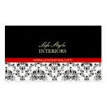 Interior Designer Business Card, Damask