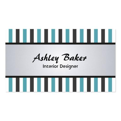 interior designer business cards zazzle