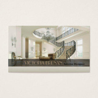 Interior Designer Furniture Living Room Decor Business Card
