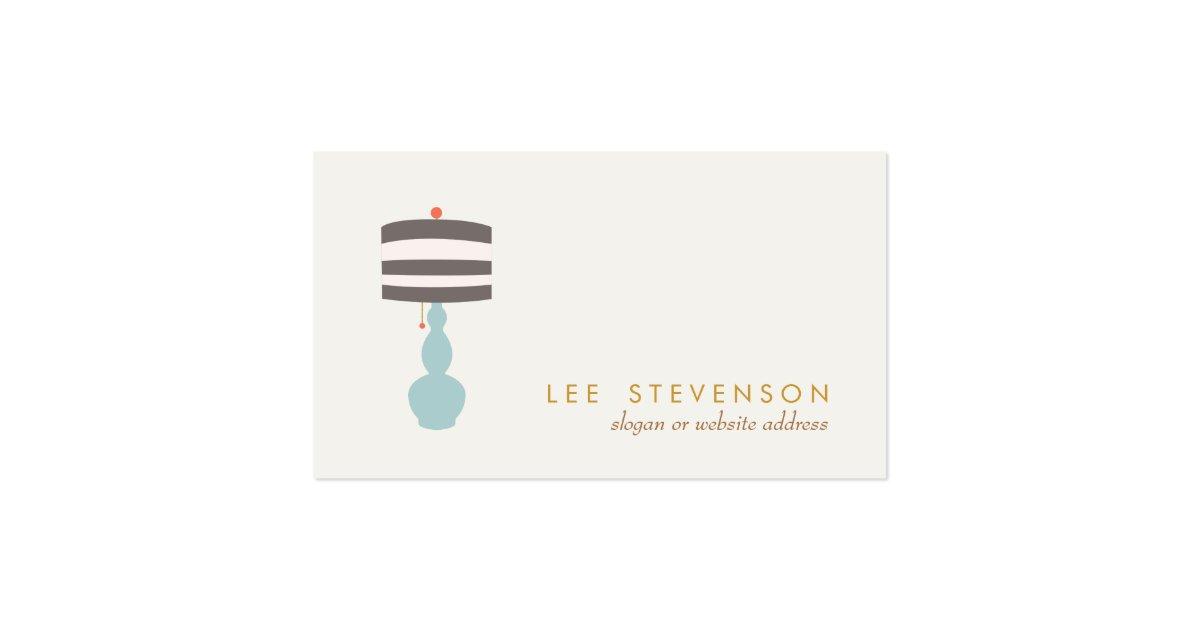Interior Designer Home Decorating Business Card Zazzle