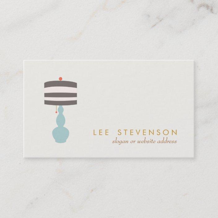 Interior Designer Home Decorating Decor Business Card Zazzle Com