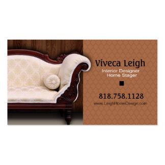 Interior Designer, Home Stager Business Card