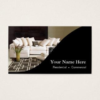 Interior Designer Home Staging Business Card