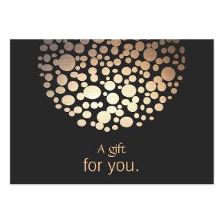 Interior Designer Lighting Gift Certificate Large Business Cards (Pack Of 100)