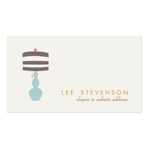 interior designer lighting home decorating business cards zazzle