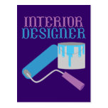 Interior Designer Postcard