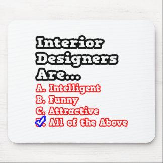 Interior Designer QuizJoke Mouse Pad