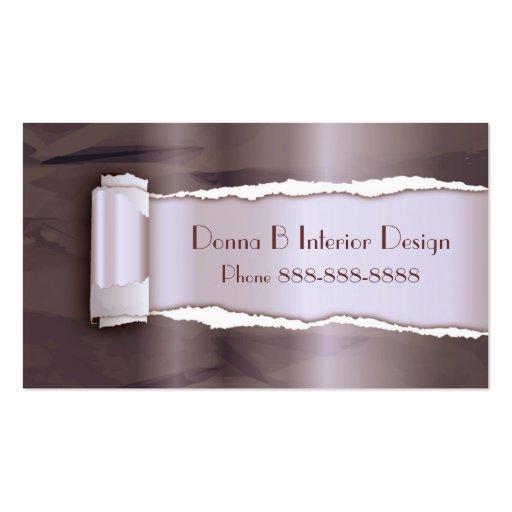 Interior Designer Remodeling Business Card Zazzle