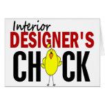 INTERIOR DESIGNER'S CHICK CARDS