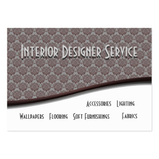 Interior Designer Service Large Business Card
