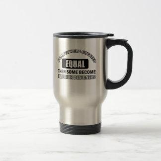 interior designers designs 15 oz stainless steel travel mug